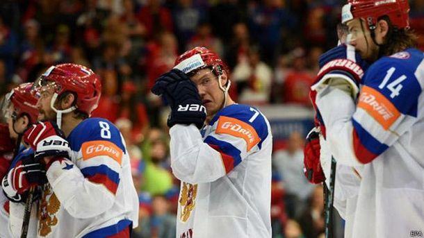 Російські хокеїсти