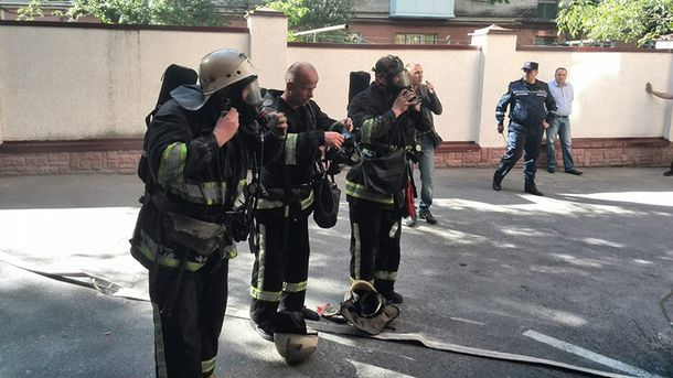Пожарные в Тернополе