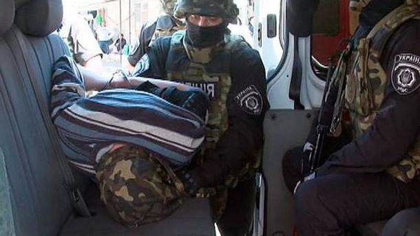 Затримання терориста в Одесі