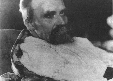 Фрідріх Ніцше в психіатричній лікарні, 1899 рік.