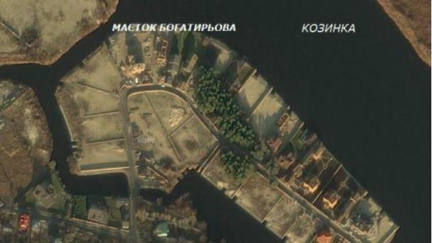 Сын Богатыревой отсудил себе часть острова под Киевом