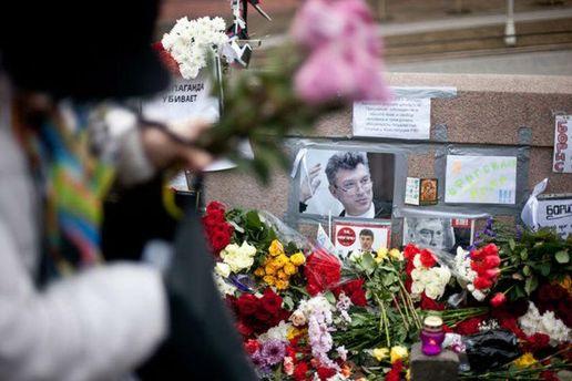 Місце вбивста Нємцова