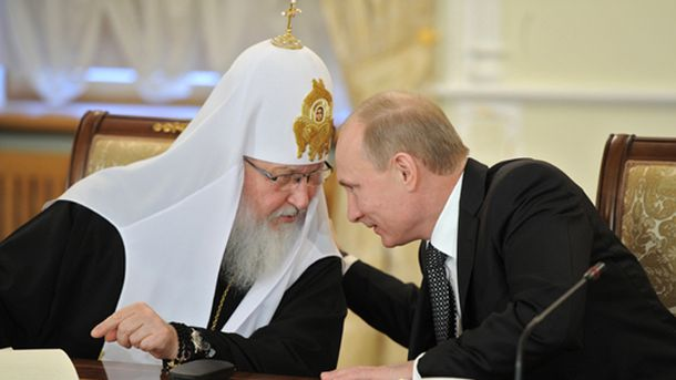 Патріарх Кирил та Путін