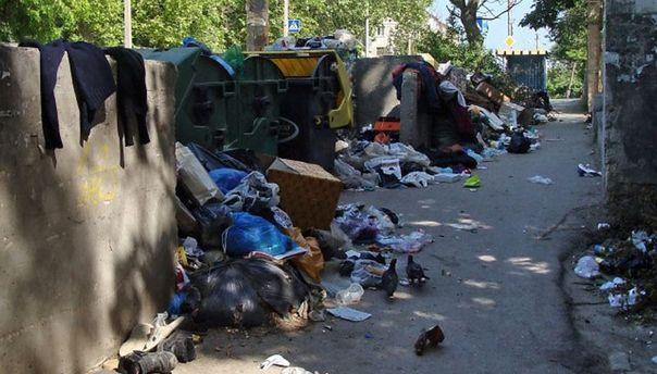Севастополь в мусоре