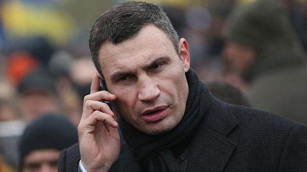 Кличко йтиме на нові вибори міського голови Києва