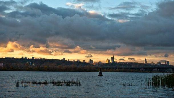 Озеро в Киеве