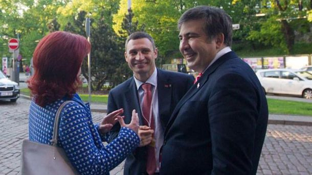 Кличко и Саакашвили