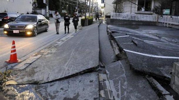 Японію сколихнули два дуже сильні землетруси
