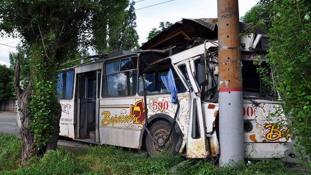 ДТП з тролейбусом