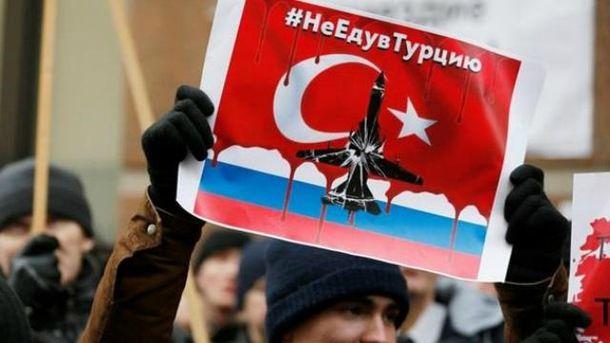 Турция рекордно сократила экспорт в Россию