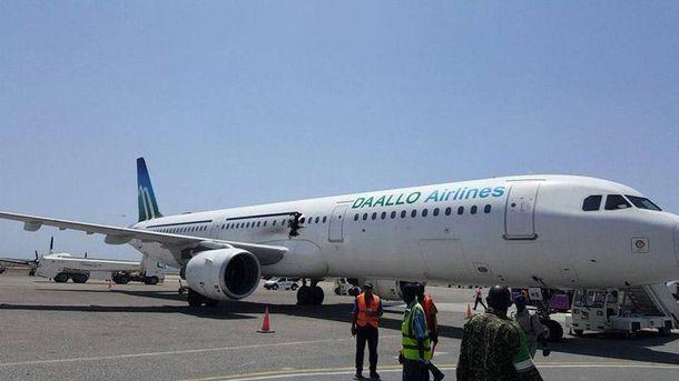 Airbus a321 экстренно сел в Сомали