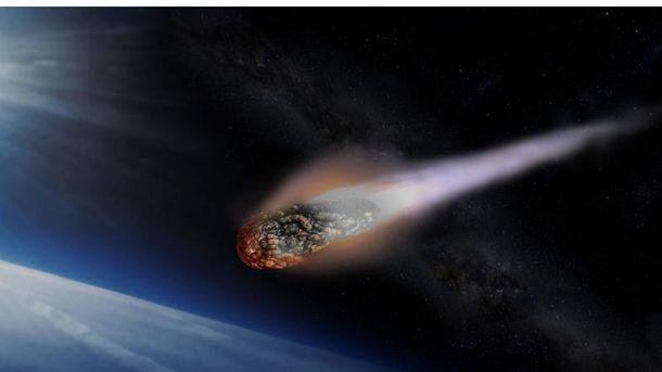 Астероид. Иллюстрация