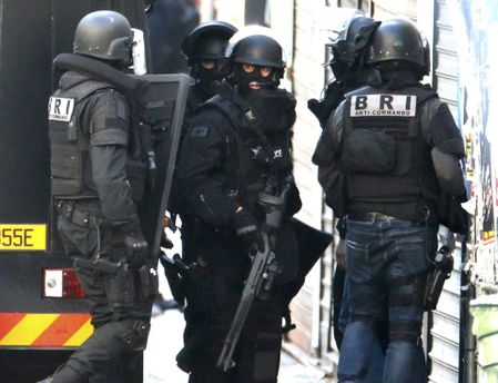 Правоохранители Франции