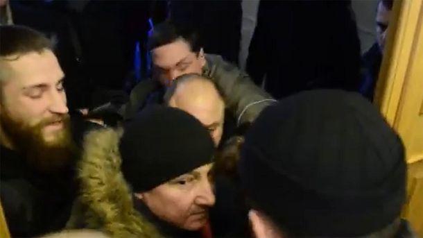 Столкновения в Минюсте