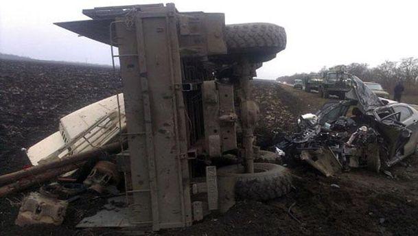 Авария в Донецкой области