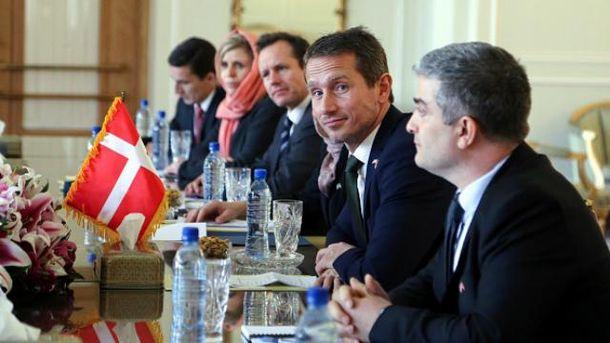 Дания грозит снятием санкций с России