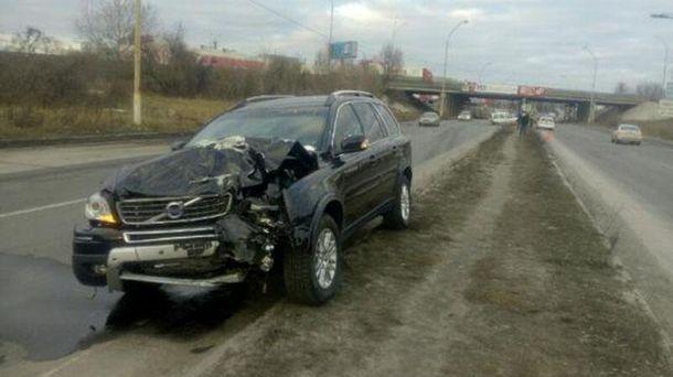 Аварія на Столичному шосе