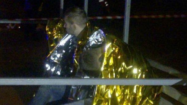 Задержанные после погони в Киеве