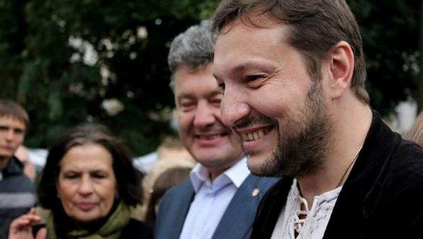 Юрій Стець і Петро Порошенко