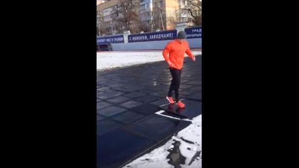 Тренировка Александра Усика