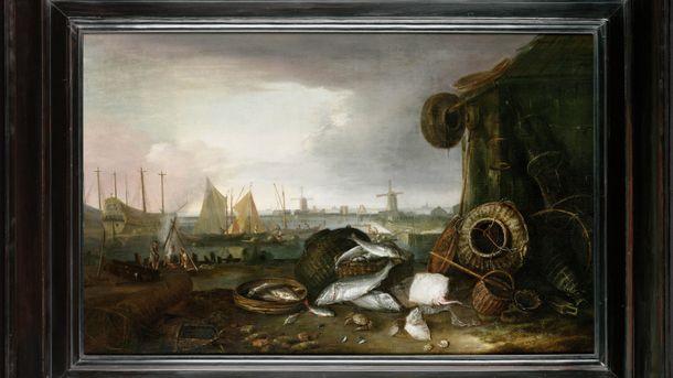 Одна из краденых картин