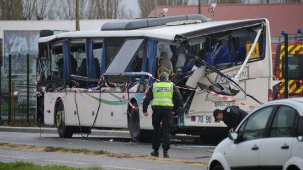 Авария во Франции