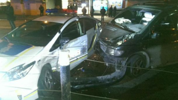 Аварія за участі поліції