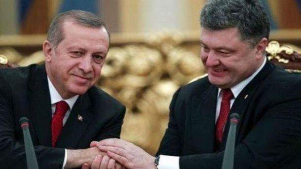 Ердоган і Порошенко