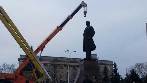 Памятник Ленину в Измаиле