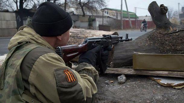 Террористы обстреляли позиции АТО