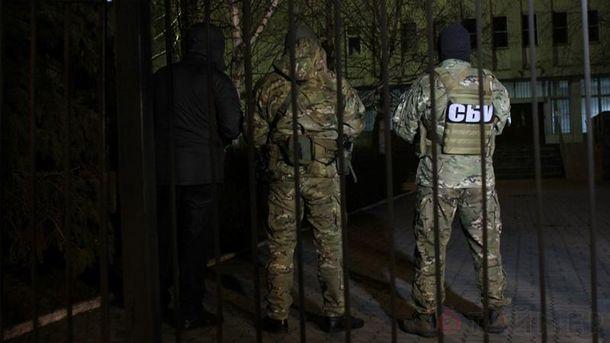Обыск в здании управления патрульной полиции Одессы