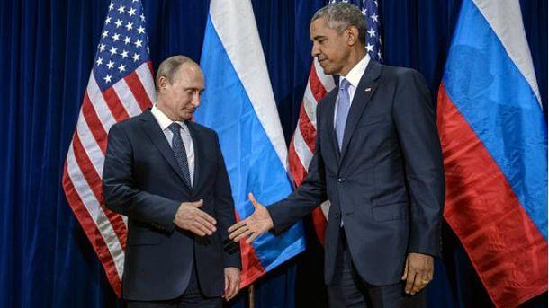 Владимир Путин, Барак Обама