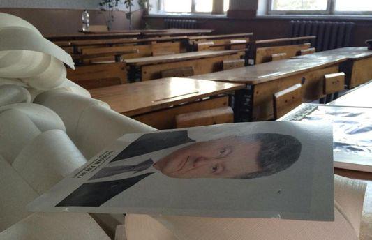 Портрет Президента в школе