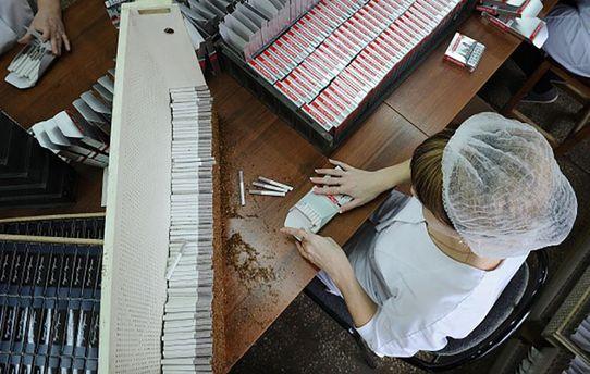 Производство сигарет