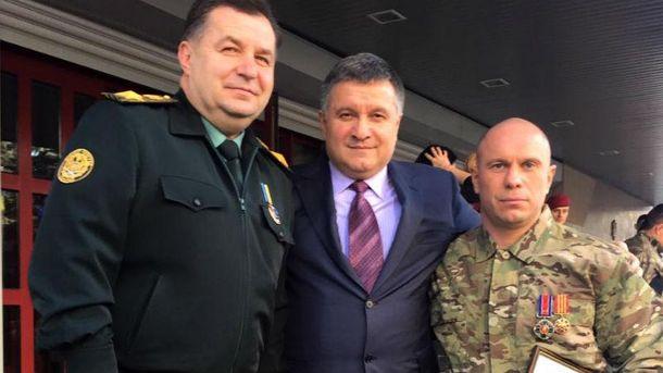 Арсен Аваков та  Ілля Кива