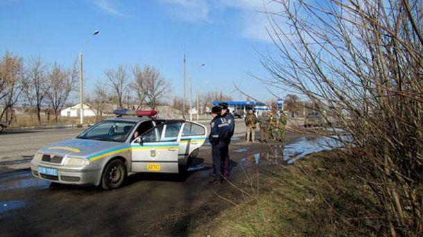Полиция и бойцы устроили перестрелку в Донецкой области