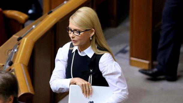 Юлія Тимошенко з новою зачіскою