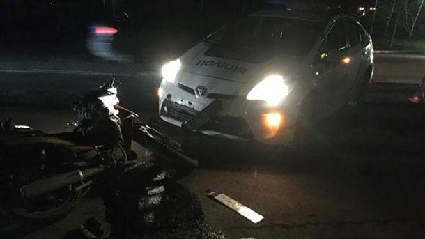 Поліцейські збили скутериста