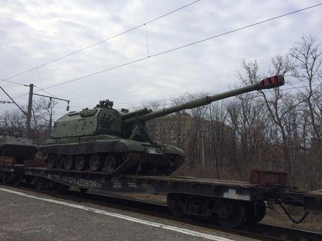 Под Донецк прибыл эшелон с российской артиллерией, — Лысенко