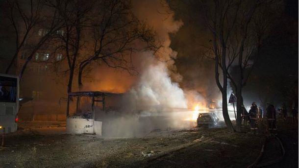 Взрыв в Анкаре