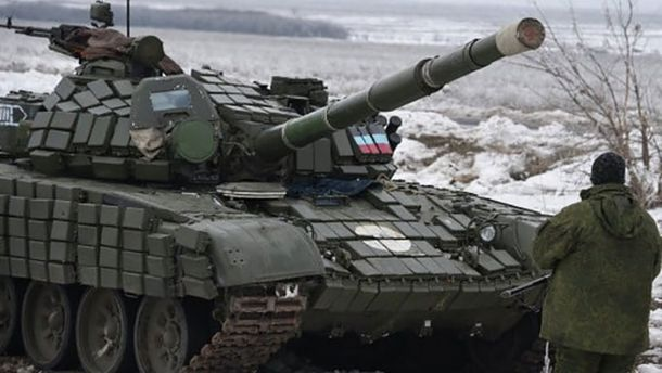 Российские военные на Донбассе