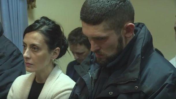 Хатия Деканоидзе в суде