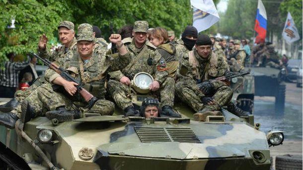 Российские наемники на Донбассе