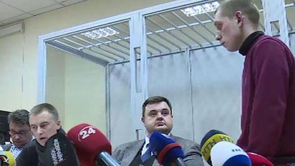 Суд над полицейским Олейником
