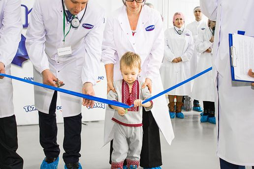 Відкриття виробництва дитячого молочного харчування