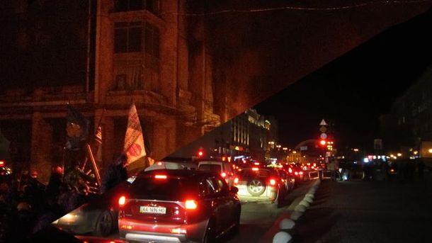 Майдан-2014 в огне — Майдан-2016 в огнях: фотосравнения