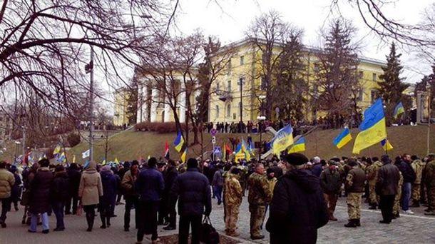 Майдан Независимости сегодня