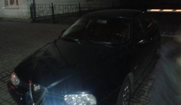 Автомобіль бійців Самооборони Києва
