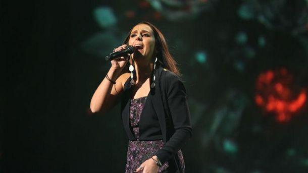 Джамала під час виступу на відборі до Євробачення-2016