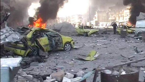 Теракт у Сирії